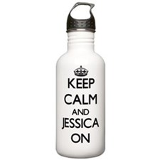 Keep Calm and Jessica Water Bottle