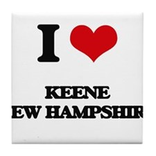 I love Keene New Hampshire Tile Coaster