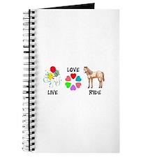 LIVE LOVE RIDE Journal