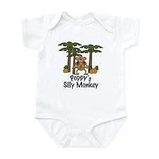 Poppy's Silly Monkey Boy Baby/Toddler Onesie