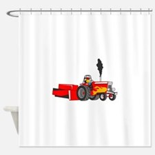 TRACTOR PULL Shower Curtain