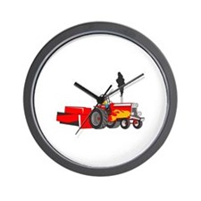 TRACTOR PULL Wall Clock