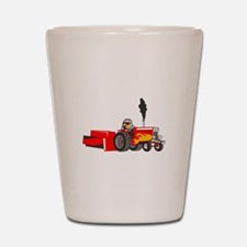 TRACTOR PULL Shot Glass