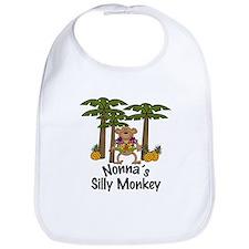 Nonna's Silly Monkey Boy Baby/Toddler Bib