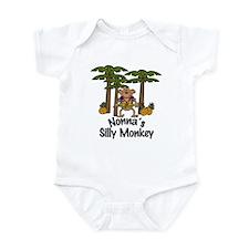 Nonna's Silly Monkey Boy Baby/Toddler bodysuits