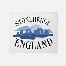 Stonehenge England Throw Blanket