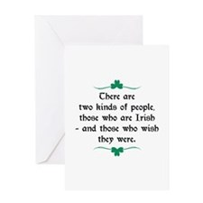 Two Kinds Of People Greeting Card