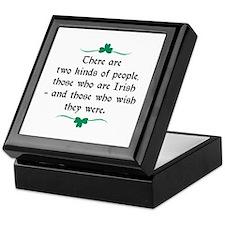 Two Kinds Of People Keepsake Box