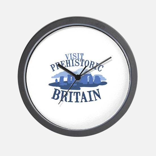 Prehistoric Britain Wall Clock