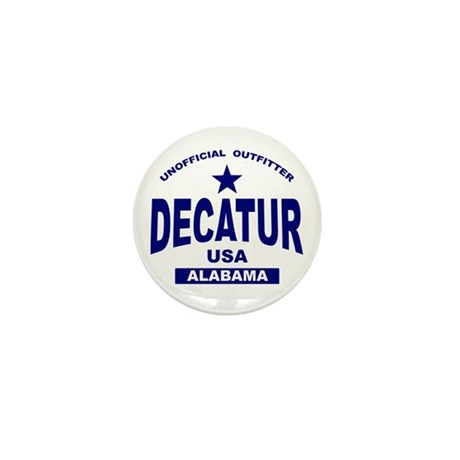 Decatur AL Mini Button