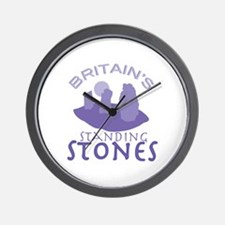 Britains Standing Stones Wall Clock