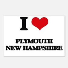 I love Plymouth New Hamps Postcards (Package of 8)