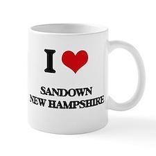 I love Sandown New Hampshire Mugs