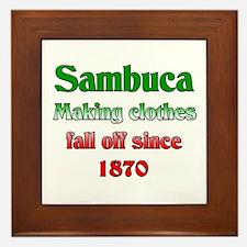 Italian Sambuca Framed Tile
