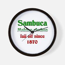 Italian Sambuca Wall Clock