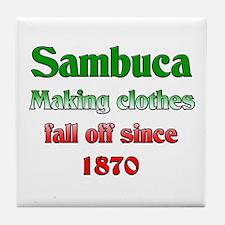 Italian Sambuca Tile Coaster