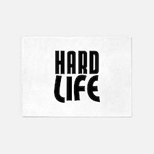 HARD LIFE 5'x7'Area Rug