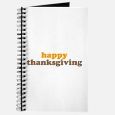 happy thanksgiving Journal