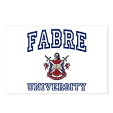 FABRE University Postcards (Package of 8)