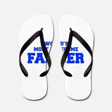 WORLD'S MOST AWESOME Farmer-Fre blue 600 Flip Flop