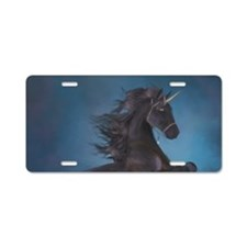 The power of the Unicorn Aluminum License Plate