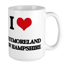 I love Westmoreland New Hampshire Mugs