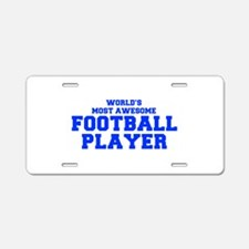 WORLD'S MOST AWESOME Football Player-Fre blue 400