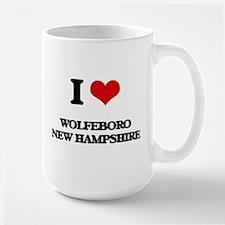 I love Wolfeboro New Hampshire Mugs