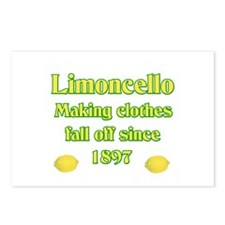Italian Limoncello Postcards (Package of 8)