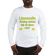 Italian Limoncello Long Sleeve T-Shirt