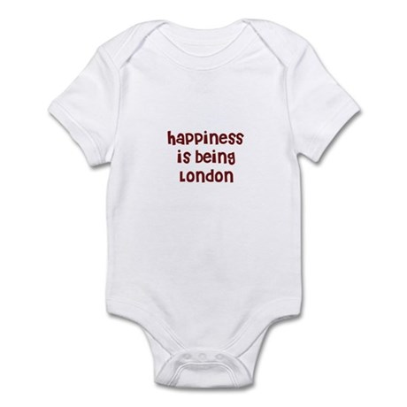happiness is being London Infant Bodysuit