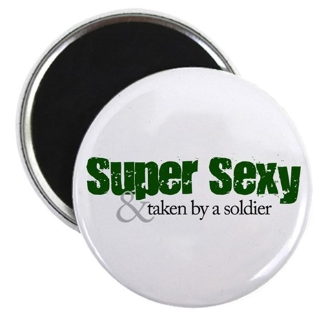 Army: Super Sexy & Taken Magnet