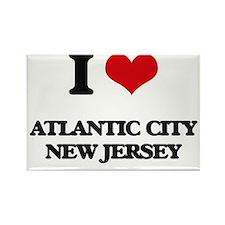 I love Atlantic City New Jersey Magnets