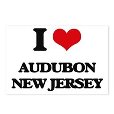 I love Audubon New Jersey Postcards (Package of 8)