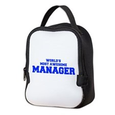 WORLD'S MOST AWESOME Manager-Fre blue 600 Neoprene