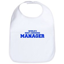 WORLD'S MOST AWESOME Manager-Fre blue 600 Bib