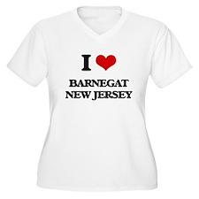 I love Barnegat New Jersey Plus Size T-Shirt