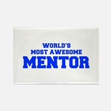 WORLD'S MOST AWESOME Mentor-Fre blue 600 Magnets