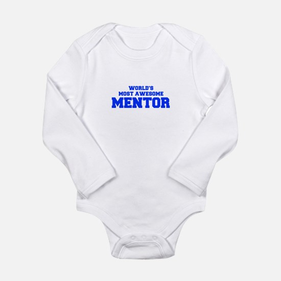 WORLD'S MOST AWESOME Mentor-Fre blue 600 Body Suit