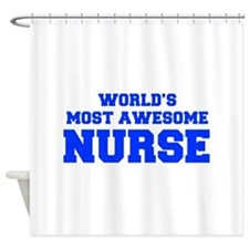 WORLD'S MOST AWESOME Nurse-Fre blue 600 Shower Cur