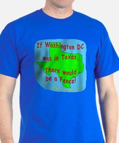 If Washington DC was in Texas - T-Shirt
