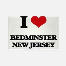 I love Bedminster New Jersey Magnets