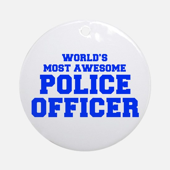 WORLD'S MOST AWESOME Police Officer-Fre blue 400 O