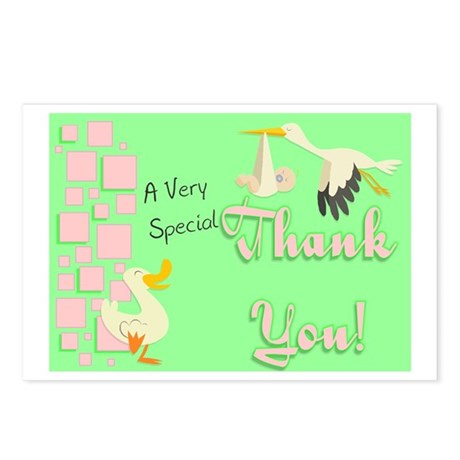 Thank You (squares) Postcards (Package of 8)