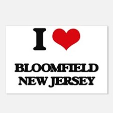 I love Bloomfield New Jer Postcards (Package of 8)