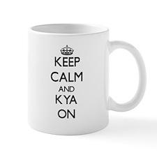 Keep Calm and Kya ON Mugs