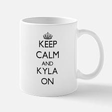 Keep Calm and Kyla ON Mugs