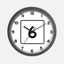 State Route 6, Maine Wall Clock