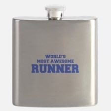 WORLD'S MOST AWESOME Runner-Fre blue 600 Flask