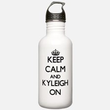 Keep Calm and Kyleigh Water Bottle